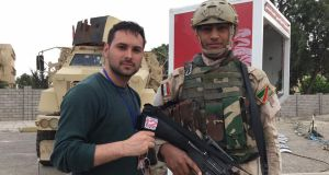 James Mahon reporting from Mosul in northern Iraq for CBS News.