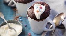Irresistible recipe for chocolate microwave mug cakes