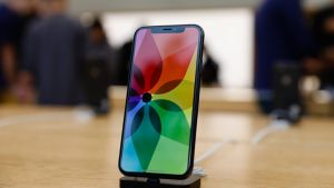 The iPhone X is the iPhone that should always have been. Photograph: Getty