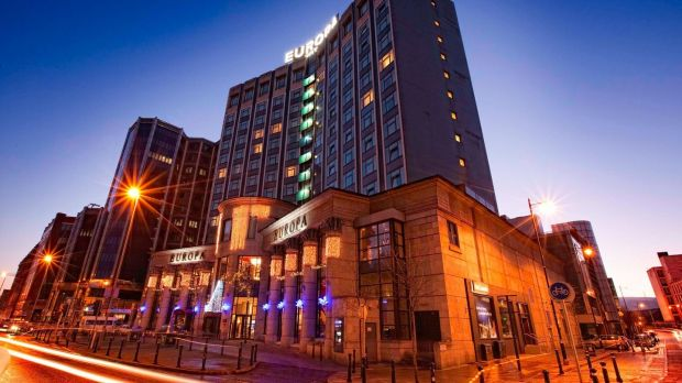 The Europa Hotel in Belfast: A good base for a shopping trip in the north