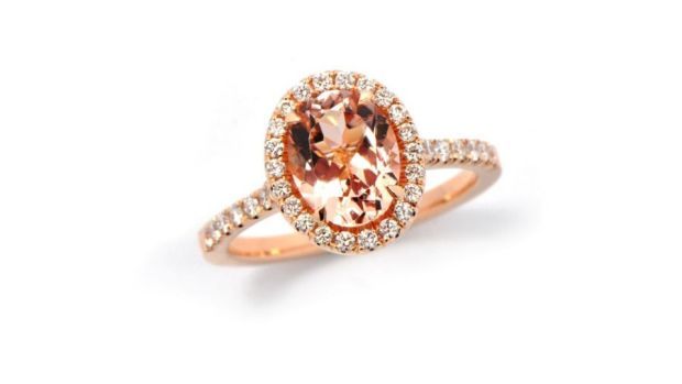 Morganite will weigh less than a diamond if looking at two stones with the exact same dimensions