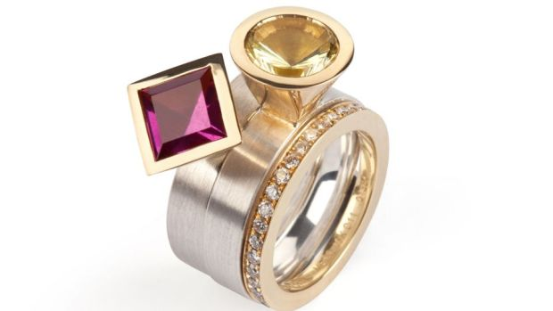 A contemporary handcrafted design will enhance your choice of coloured gemstone