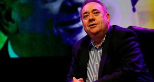 Former first minister of Scotland Alex Salmond said he would have full editorial control over the show. Photograph: Reuters/Russell Cheyne
