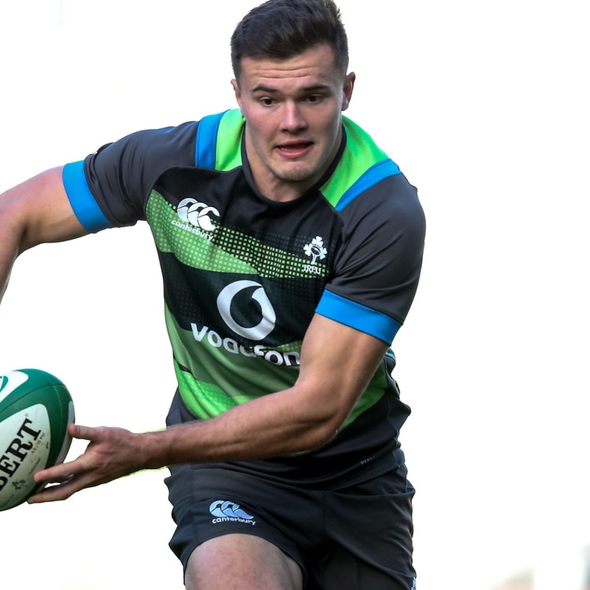 Jacob Stockdale living the dream playing alongside his