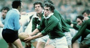 John Robbie in action for Ireland. Photograph: Billy Stickland/Inpho