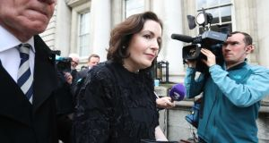 Bank of Ireland chief executive Francesca McDonagh: not the start she would have hoped for when she took over in early October.  Photograph: Leah Farrell/RollingNews.ie