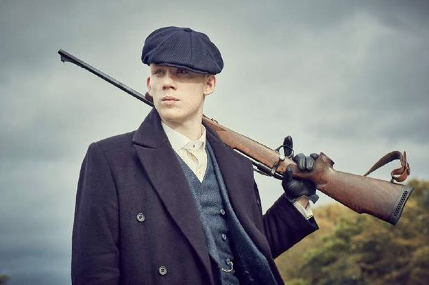 Joe Cole as John Shelby in Peaky Blinders. Photograph: BBC