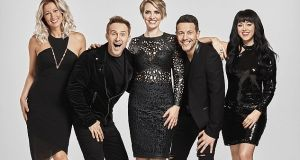 Steps (from left)Faye Tozer, Ian 'H' Watkins, Claire Richards, Lee Latchford-Evans and Lisa Scott-Lee