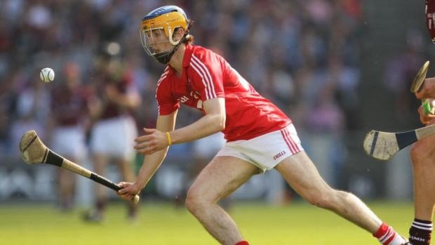 Darren Sweetnam in action for Cork in the 2012 All-Ireland hurling semi-final against Galway at Croke Park. Photograph: Cathal Noonan/Inpho