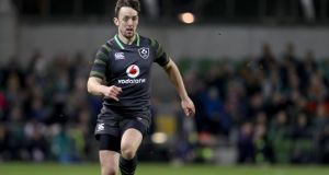 Darren Sweetnam made his Ireland debut off the bench in Saturday's opening autumn international against South Africa at the Aviva Stadium . Photograph: Dan Sheridan/Inpho