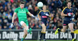 Darren Hughes in action for Ireland in 2015. Photograph: Inpho