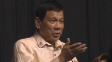 'You are the light' - Philippines' Duterte sings at Trump's request