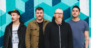 """We're becoming a bit more refined in how we use volume"": Rory Friers, Niall Kennedy, Johnathan Adger and Chris Wee of And So I Watch You from Afar"