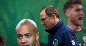Martin O'Neill says his Ireland team are ready for Tuesday's playoff against Denmark. Photograph: Ryan Byrne/Inpho