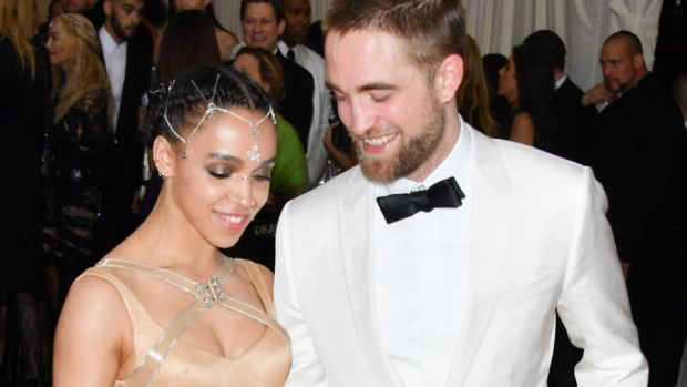 FKA Twigs: Robert Pattinson with the singer, his former fiancee, in 2016. Photograph: George Pimentel/WireImage/Getty
