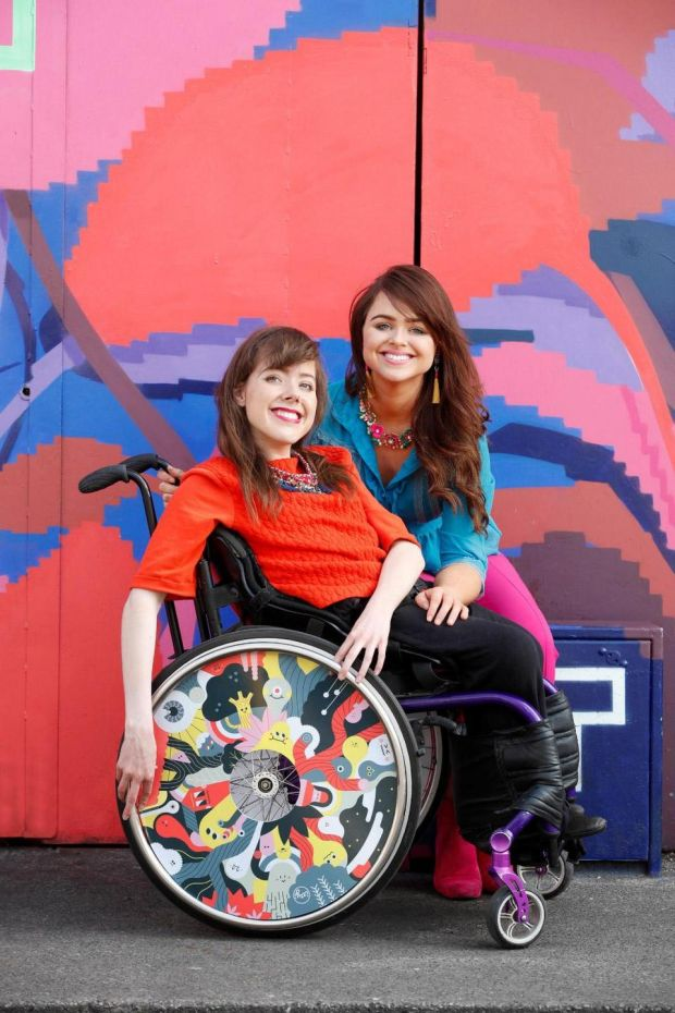 Wheel cover by Loulou and Tummie - photo Conor McCabe for Spokout