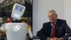 'A cute little fecker': Trinity's Stevie the robot helps older people