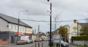 "CCTV cameras  installed in Duleek, Co Meath. ""Blanket surveillance such as this has been struck down on several occasions by the European courts,"" said local solicitor Fred Logue. Photograph: Alan Betson"