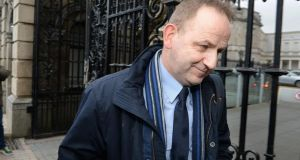Labour TD Alan Kelly has tabled a series of Dáil questions about the tribunal investigating allegations of a smear campaign against Garda whistleblower Sgt Maurice McCabe (pictured in 2014). Photograph: Cyril Byrne.