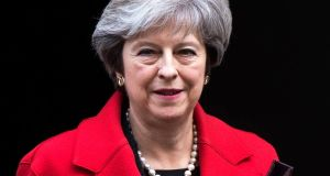 British prime minister Theresa May: sterling could be in for a volatile couple of weeks unless the Brexit talks go smoothly. Photograph: Will Oliver/EPA