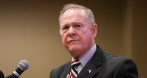 Roy Moore: candidacy promises to deepen divide between Republican leaders in Congress and the populist wing of the party. Photograph: Marvin Gentry/Reuters