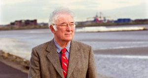 "The late Seamus Heaney: his work ""touches people so profoundly because it seems to spring from a very deep life indeed"",  says newly announced biographer Fintan O'Toole. Photograph: Pat Langan"