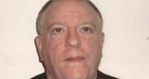 Derek Brockwell who escaped custody on February 17th, 2015 and was recaptured. Photograph: Irish Prison Service /PA