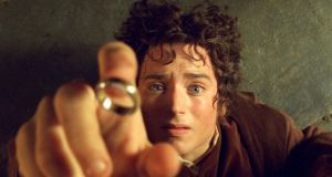 Elijah Wood as Frodo Baggins in Lord of The Rings: Amazon's TV  adaptation will explore  new storylines preceding Tolkien's The Fellowship of the Ring. Photograph: Reuters/HO-New Line Cinema