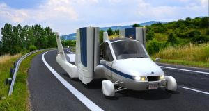 Volvo's owner buys flying car business