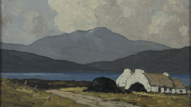 "Lot 9, ""The Road by the Lough"" by Paul Henry: has an estimate of €25,000-€35,000."