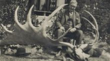 How my granddad ended up with the skull and antlers of a giant Irish deer