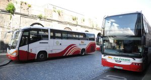 "Bus Éireann management says ""it remains of paramount importance that these rosters ... are introduced as planned"". Photograph: Aidan Crawley"