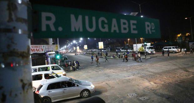 Tensions rise in Zimbabwe as military in outskirts of capital