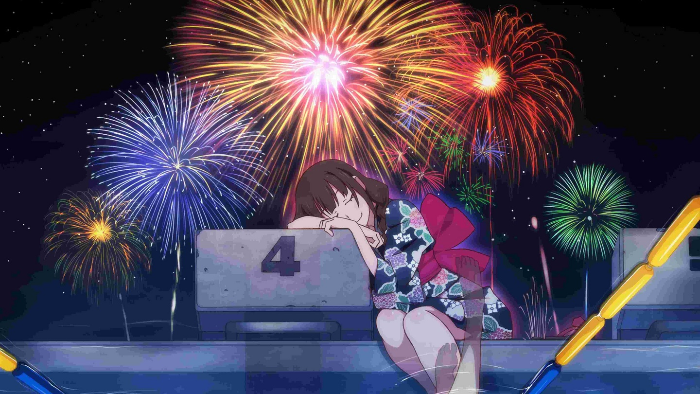 Fireworks Review Magical Girl Genre With Avant Garde Animation