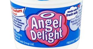 Angel Delight is one of Premier Foods' smaller and historically less heavily invested brands