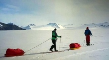 Father-son duo to trek Antarctica relying solely on renewable energy
