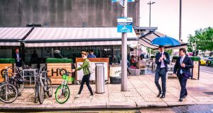 As there are no docking stations, Urbo users can start and end their journey at any designated bike parking area and simply lock them when they arrive at their destination