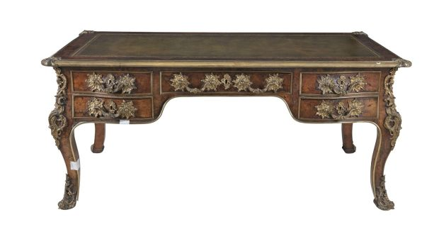Louis XVI-style writing desk made €13,000 – way above estimate - Move Over Ikea – Antique Brown Furniture Is Back