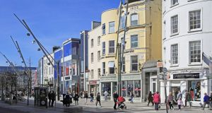 A one-bedroom city centre flat in Cork rents for €750 a month, and is hard to find. Photograph: Getty Images