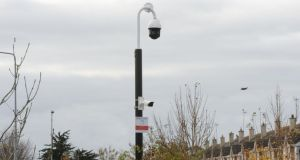CCTV: Part of Duleek's €50,000 system. Photograph: Alan Betson