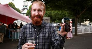 Barry Walsh: co-founder of Find My Pint.