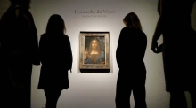 Leonardo da Vinci  painting sells for $450.3 million