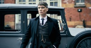 Thomas Shelby played by Cillian Murphy. Photograph: Robert Viglasky