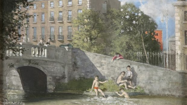 Summer's Day on the Canal by Patrick Hennessy is estimated at €5,000-€7,000