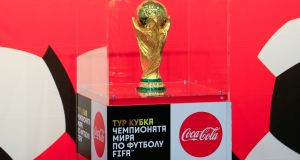 The draw for the 2018 World Cup in Russia will take place on December 1st at the Kremlin. Photo: Dmitry Rogulin\TASS via Getty Images