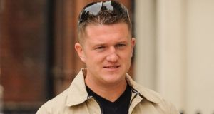 English Defence League founder Tommy Robinson has been de-verified by Twitter.