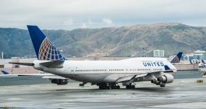 United Airlines Boeing 747: the aircraft was retired from service last week after a final trip to Hawaii. Photograph: Getty