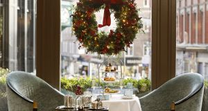 A Christmas treat: Westbury Hotel festive afternoon tea