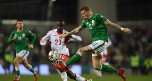 Ireland could meet Denmark again in the new Uefa Nations League. Photo: Getty Images