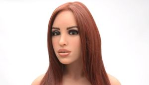 "A prototype of Harmony, which offers an ""alternative form of relationship"", according to its manufacturers RealDoll. Image: RealDoll/YouTube"